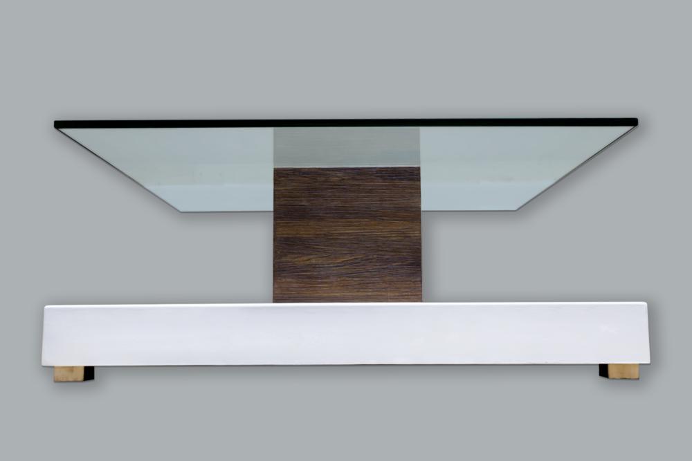 Yann - Glass Top Table